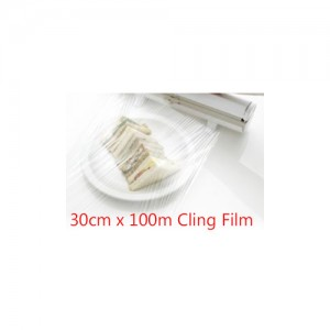 "12"" Cling Film (30cm x 100m)-Foil & Film-Oh My Packaging"