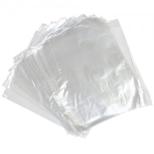 "6"" x 8"" 100 Gauge Poly Bags.-100 Gauge Poly Bags (25 Micron) -Oh My Packaging"