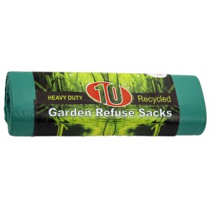 E-lite Style 10's Heavy Duty Green Garden Sacks On Roll-Refuse Sacks & Bin-liners-Oh My Packaging
