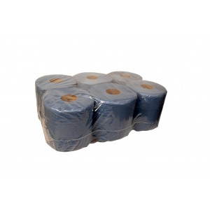 Blue Centre Feed Rolls 130m-Paper Hygiene-Oh My Packaging