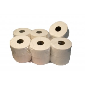 "Mini Jumbo Toilet Rolls 2.25"" Core 2 Ply-Paper Hygiene-Oh My Packaging"