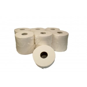 White Centre Feed Rolls 150m.-Paper Hygiene-Oh My Packaging