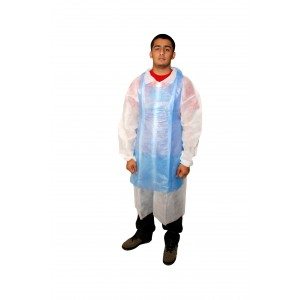 Blue Disposable Plastic Aprons-Protective-Oh My Packaging