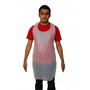 White Disposable Plastic Aprons-Protective-Oh My Packaging