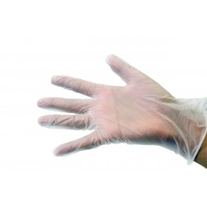 Small Clear Vinyl Gloves Powder Free -Protective-Oh My Packaging