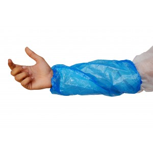 Blue Disposable Plastic Oversleeves-Protective-Oh My Packaging