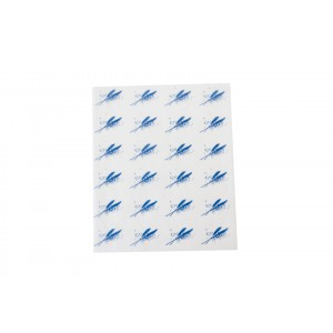Burger Wrap Sheets Blue-Food Wrapping Paper-Oh My Packaging