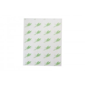 Burger Wrap Sheets Green-Food Wrapping Paper-Oh My Packaging