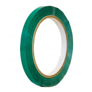Green Adhesive Coloured Tape 9mm x 66m -Colour Tapes-Oh My Packaging