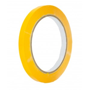 Yellow Coloured Tape 9mm x 66m -Colour Tapes-Oh My Packaging