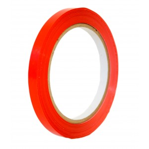 Red Coloured Tape 9mm x 66m -Colour Tapes-Oh My Packaging