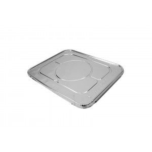1/2 Gastro Foil Tray Lids-Foil Containers & Lids-Oh My Packaging