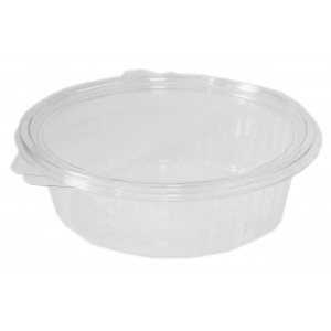 1000cc Oval Hinged Containers With Attached Lids Salad U0026 Deli Containers Oh  My Packaging
