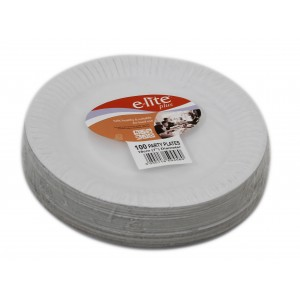7'' E-lite Plus Paper Plate (100's)-Paper Plates-Oh My Packaging