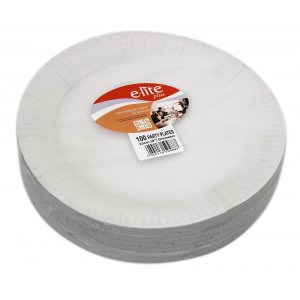 9' E-lite Plus Paper Plate (100's)-Paper Plates-Oh My Packaging