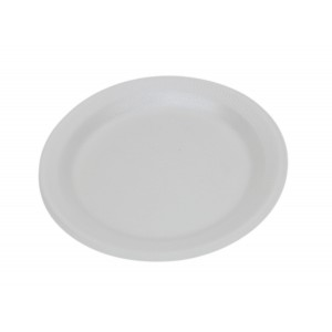 9'' Foam Plates (100's)-Polystyrene Plates-Oh My Packaging