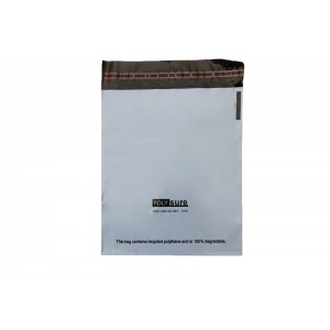350 x 400 + 40 Grey Mailing Bags.-Mailing Bags-Oh My Packaging